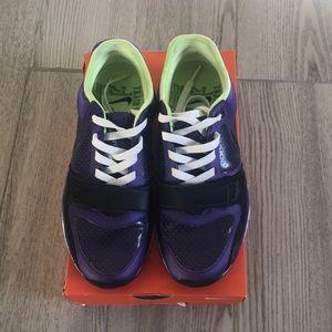 Purple Nike Air Max Trainers